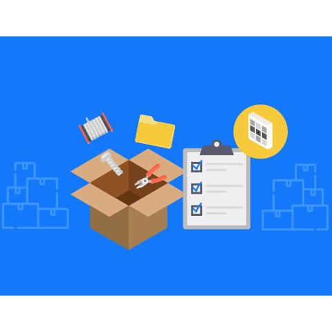 箱の中の情報も登録すれば更に便利になります